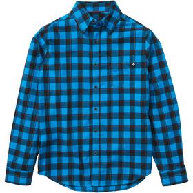 Marmot Bodega Lightweight Camisa Franela Manga Larga Hombre, clear blue
